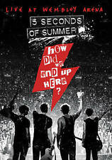 5 Seconds of Summer: How Did We End Up Here - Live at Wembley (DVD, 2015) NEW