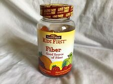 NATURE MADE Kids First Fiber Gummies Fruit Flavor 60 Count Exp 9/2020 NEW SEALED