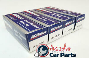 Spark Plugs 4 Pack Acdelco Double Platinum 41800
