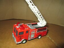 Tyco US 1 Trucking  Slot Car Fire Truck W/ LADDER