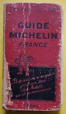 §- guide MICHELIN rouge FRANCE 1932