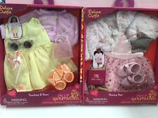 """Our Generation 18"""" doll - 2 Boxed outfits - Sunshine & Stars & Shining Star NEW"""