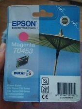 EPSON T0453  Printer Cartridge Genuine  Magenta