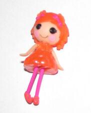 """LaLaLoopsy Mini Doll Sugar Fruit Drops GIRL in Dress 3""""Tall Cute Dangling-Legs"""