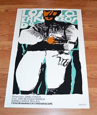 """24x36"""" Cuban movie Poster 4 film Los bandoleros.The bandits.LAST 1"""