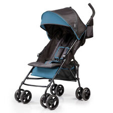 Summer Infant 3Dmini Convenience Lightweight Foldable Travel Baby Stroller, Blue