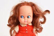 Vintage 60s MOD Vintage 60s 70s Novelty Big Eye Vinyl Doll Pre Blythe