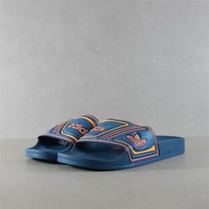 Womens Adidas Adilette Teal Slides (TGF63) RRP £29.99