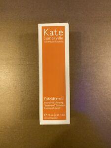Kate Somerville ExfoliKate Intensive Exfoliating Treatment .25 Fl. Oz. New NIB