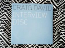Craig David Interview CD Promo Disc