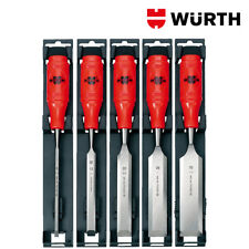 Scalpelli per Legno Professionali 6-32mm Set 5pz - WÜRTH 0715651001