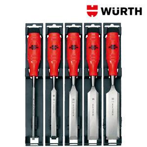Scalpelli per Legno Professionali 6-32mm Set 5pz - WÜRTH 0715651001
