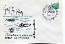 1990 Benthosforschung DDR Antarktis Berlin Friedrichsfelde Polar Antarctic Cover