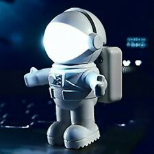 New Astronaut Spaceman USB LED Adjustable Night Light For Computer PC Lamp Desk