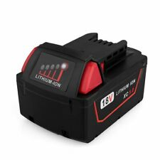 Biswaye 18V 5.0Ah Replacement Lithium Ion Battery for Milwaukee M18 XC High C...