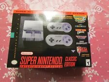 NEW SNES SUPER NINTENDO ENTERTAINMENT SYSTEM MINI CLASSIC OVER 20 BUILT IN GAMES
