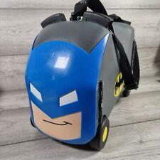 Vrum Batman Ride On Luggage Pull Along Super Hero Holiday Trunki Style