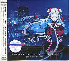 ANIME SOUNDTRACK (YUKI KAJIURA)-SWORD ART ONLINE -ORDINAL SCALE--JAPAN 2 CD I19