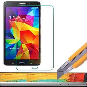 Tempered Glass Screen Protector Guard Shield Samsung Galaxy Tab 4 & 3 7 & 8 inch