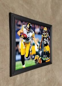Charles Woodson Packers vs Steelers Hines Ward Super Bowl XLV 8x10 Framed Photo