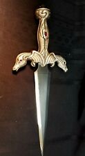 "Conan the Barbarian Demon Skull 16"" Dagger - A3216, Made in Spain, Dragons"