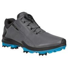 Ecco Golf BIOM G3 Gore-Tex Waterproof Leather Mens Spiked Golf Shoes