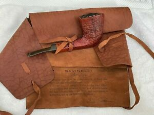 SAVINELLI Autograph 5 with bag Italy Pipe