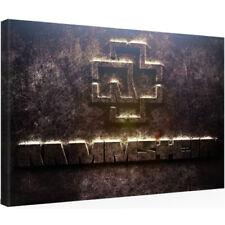 Leinwandbild 30 x 20 RAMMSTEIN LINDEMANN SHIRT VINYL TICKET Kunstdruck (0607203)