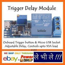 E78 Trigger Delay Relay Timer Switch Module Input DC 5V - 30V Load upto 220V 10A