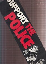 the police support the police paper bummer sticker from 1979