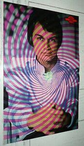 POSTER SALUT LES COPAINS 60's MAI 1968 PSYCHEDELIQUE CLAUDE FRANCOIS NICOLETTA