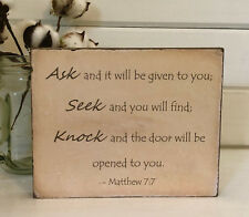 personalized signs - motivations gifts - inspirational gifts - scripture