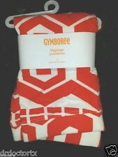 NEW! GYMBOREE GIRLS SIZE 7 GEO PRINT LEGGINGS RED ORANGE MOD ABOUT ORANGE