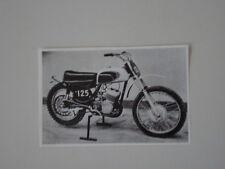 RITAGLIO DI GIORNALE 1971 MOTO CZ 125 CROSS
