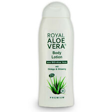 Royal Aloe Vera Body Körper Lotion mit Ginko, Ginseng, 60% Bio Aloe Vera 300 ml