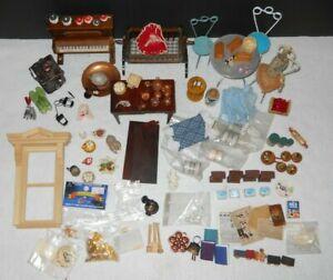 Vintage Dollhouse Miniature Furniture Accessories Carl Forslund Lot 1:12