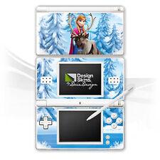 Nintendo DS Lite Folie Aufkleber Skin - Frozen Anna & Sven