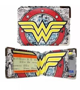 OFFICIALLY LICENSED DC COMICS WONDER WOMAN ID TRAVEL CARD HOLDER (WALLET)
