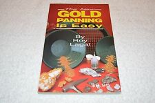 METAL DETECTING BOOK ~ THE NEW GOLD PANNING IS EASY ~ ROY LAGAL ~ BRAND NEW