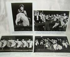 1988 Press Photo CHITA RIVERA CAN-CAN Radio City Music Hall Rockettes Theater