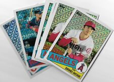 2020 Topps series 1 Silver pack promotion 1985 parallels U pick From list