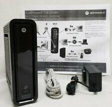 Arris Motorola SBG6580 DOCSIS 3.0 Cable Modem WiFi Router Comcast  Charter  Cox