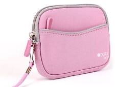 Pink Neoprene Compact Camera Case for Nikon Coolpix S7000 Camera
