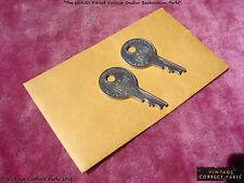 Vintage Gibson Excelsior Case Keys and Envelope BURST CASE CANDY 1959 1958 1957