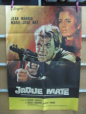 A2894 JAQUE MATE Jean Marais, Marie-José Nat, Horst Frank, Jacques Stany, Jean L