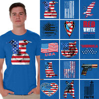 American flag shirt 4th of July T-shirt  Independence Day USA shirt