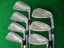 New Mizuno MP 64 Iron set 4-PW KBS Tour 120 Stiff flex steel irons MP64