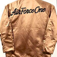 NEW NIKE AIR FORCE One Varsity Jacket Bronze Men's Medium FREE SHIP