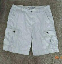 Mens AMERICAN EAGLE Classic Cargo Shorts (light khaki), size 36
