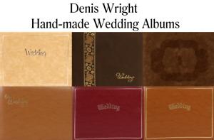Denis Wright Wedding Albums - British Craftsmen Hand-Made Albums